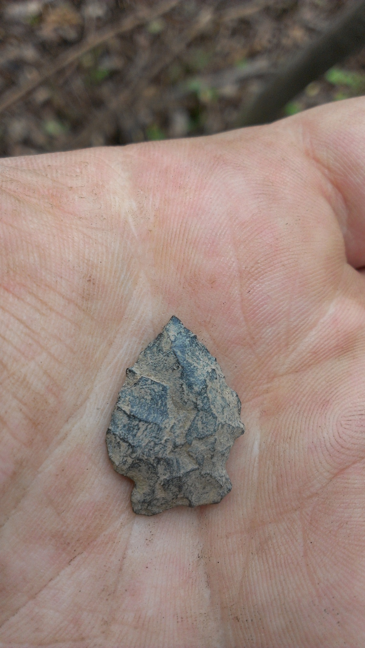 Late Precontact Arrowhead
