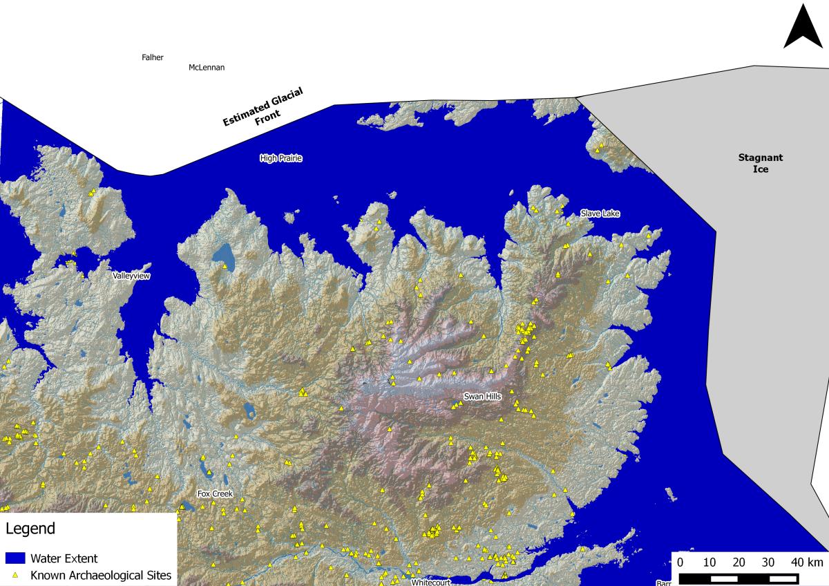 Relict Shoreline Identification using Lidar in the Lesser Slave LakeRegion