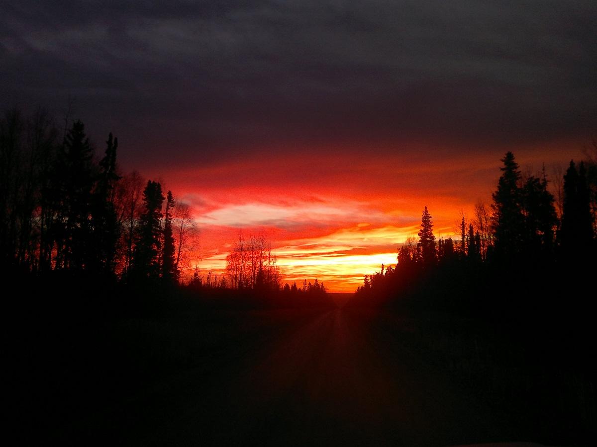 Sunrise in MartenHills