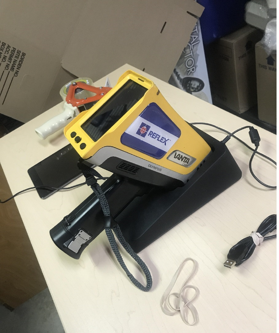 Sourcing with pXRF (portable X-Ray Fluorescence)